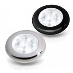 White LED 'Enhanced Brightness' Round Courtesy Lamps