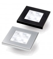 White LED 'Enhanced Brightness' Square Courtesy Lamp