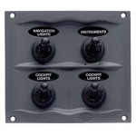 Splash Proof Panel - 4 Way Part # 900-4WP