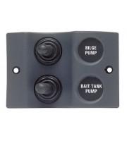 Micro Panel - 2 x On/Off Black Part # 900-2WP