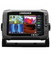 LOWRANCE HDS-7 Gen2 Touch Fishfinder/Chartplotter with one-year Insight Genesis subscription, no transducer