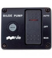 RULE INDUSTRIES Three-Way Rocker Panel Switch